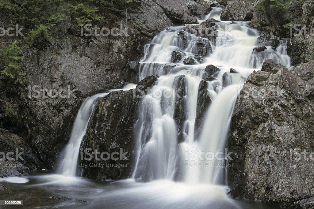 Waterfall, Nova Scotia, Canada royalty-free stock photo