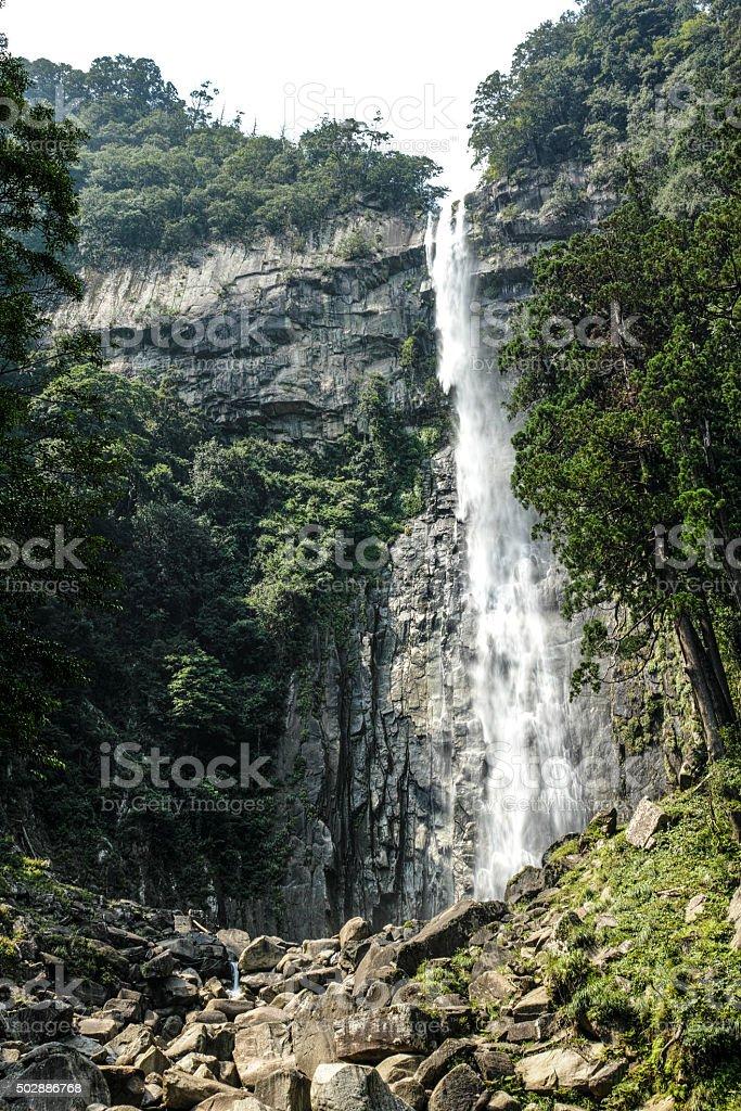 Waterfall of Nachi JAPAN stock photo