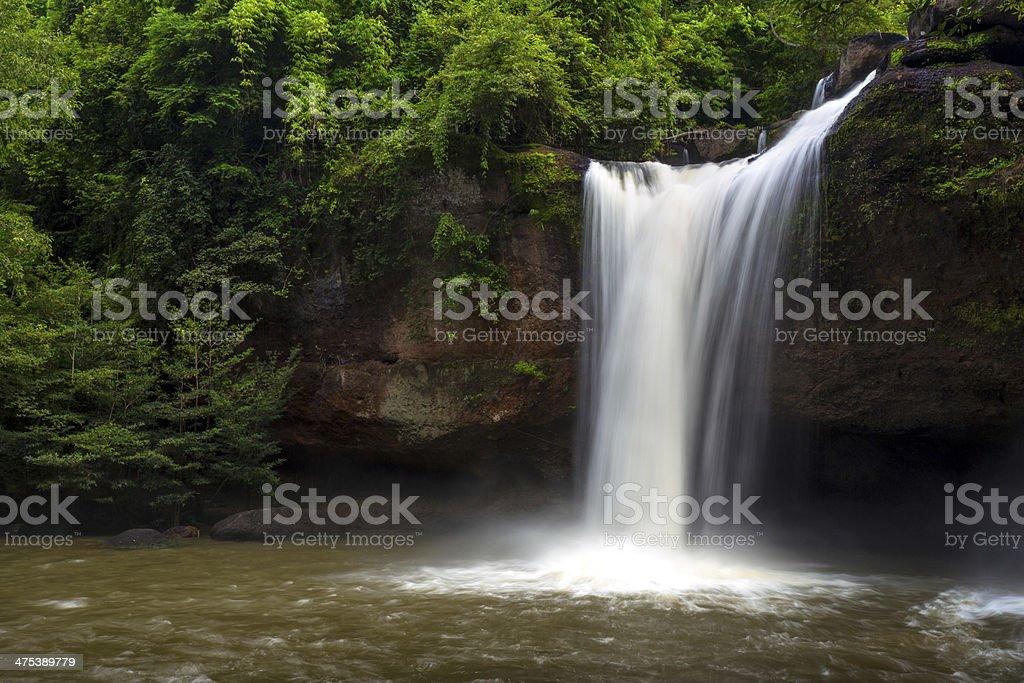 Wasserfall des national park Lizenzfreies stock-foto