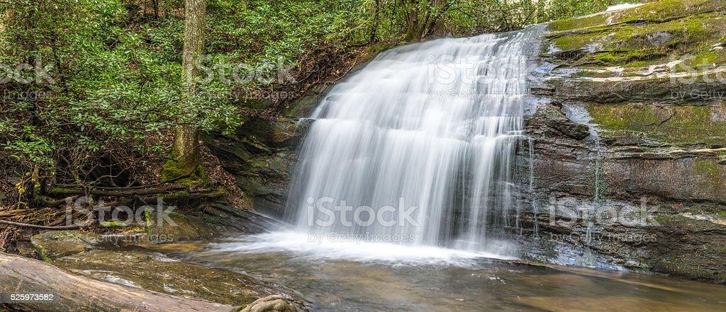 Waterfall Panorama stock photo