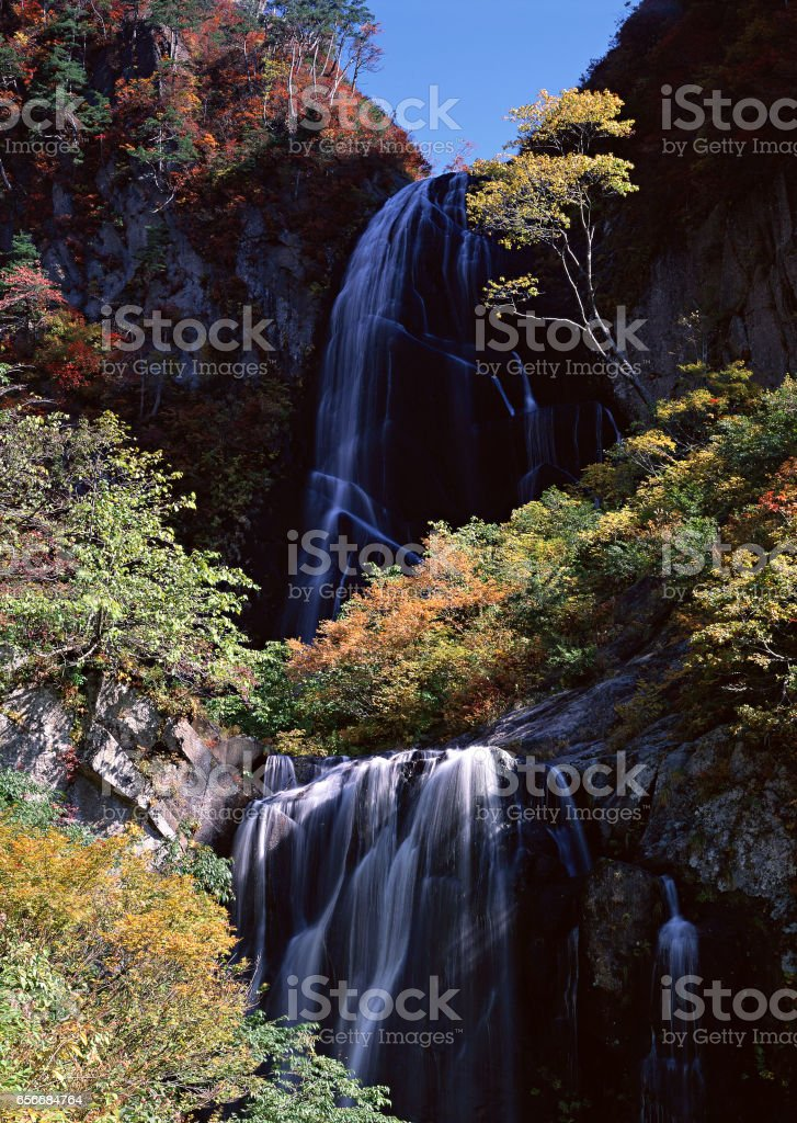 Waterfall stock photo