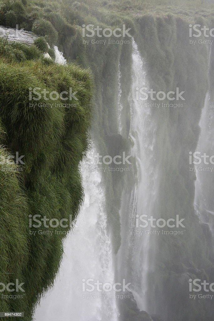Waterfall (Iguacu Falls) royalty-free stock photo