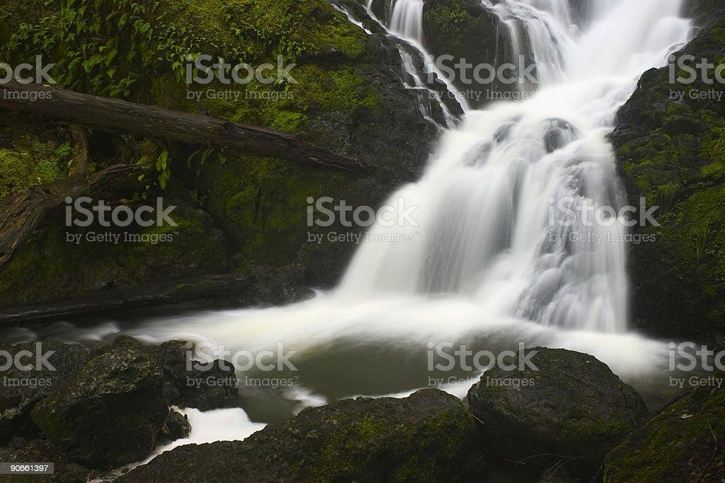 Waterfall #4 stock photo