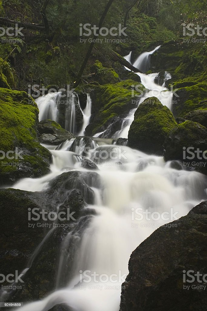 Waterfall #1 royalty-free stock photo