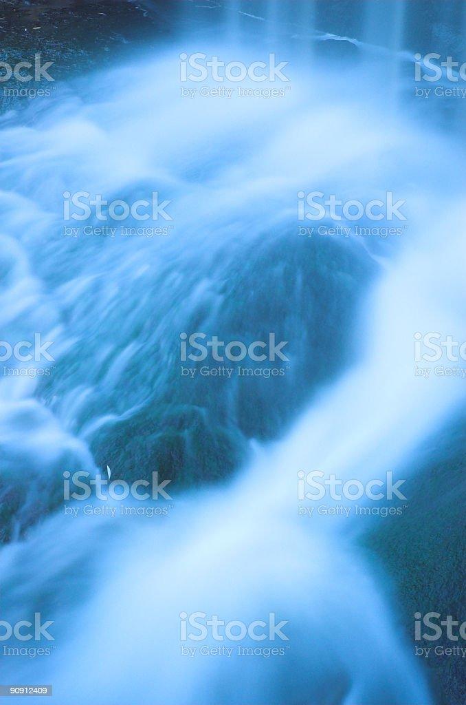 Waterfall rapids 2 stock photo