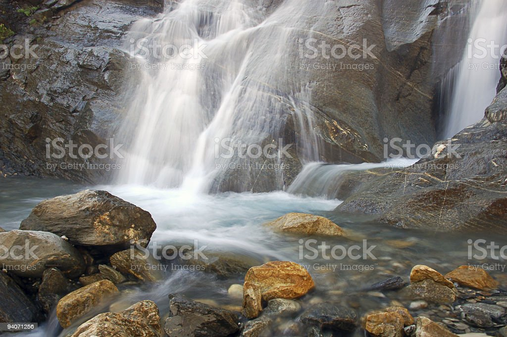 Waterfall Scenery royalty-free stock photo