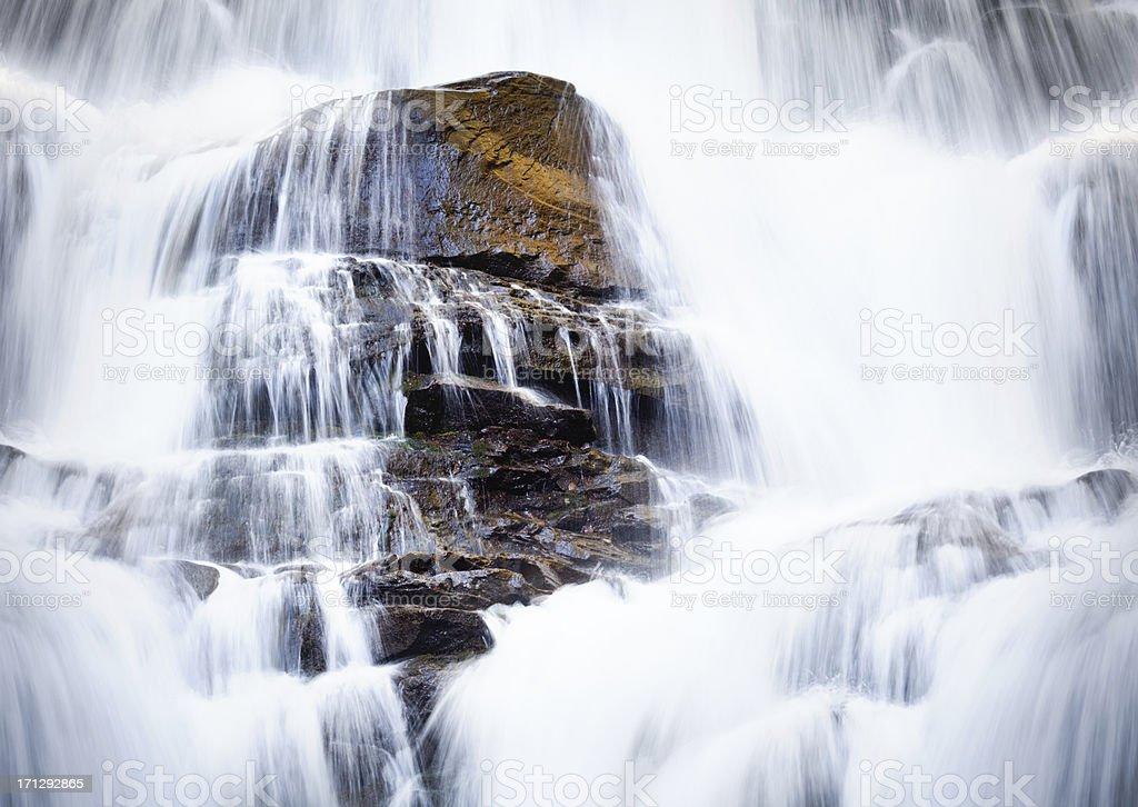 Waterfall 'Shipot' stock photo