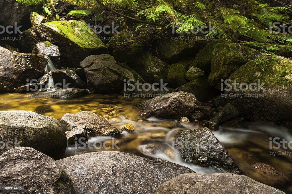 Waterfall - Squamish, British Columbia royalty-free stock photo
