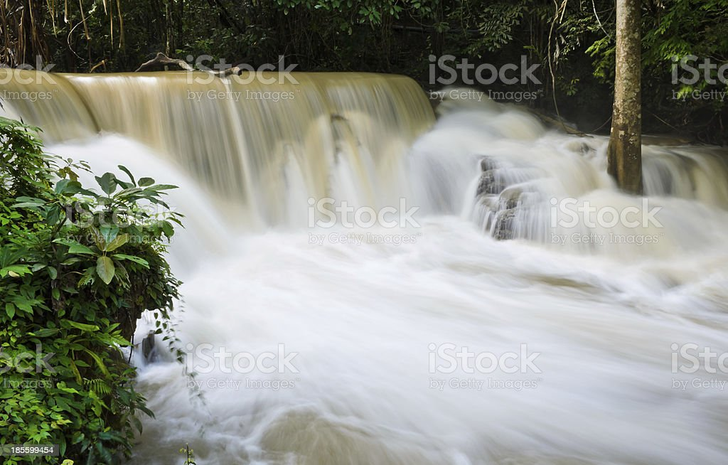 Waterfall stream royalty-free stock photo
