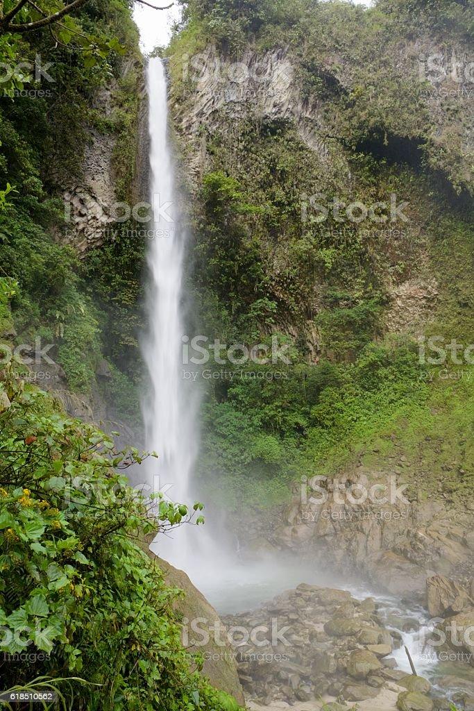 Waterfall stream stock photo