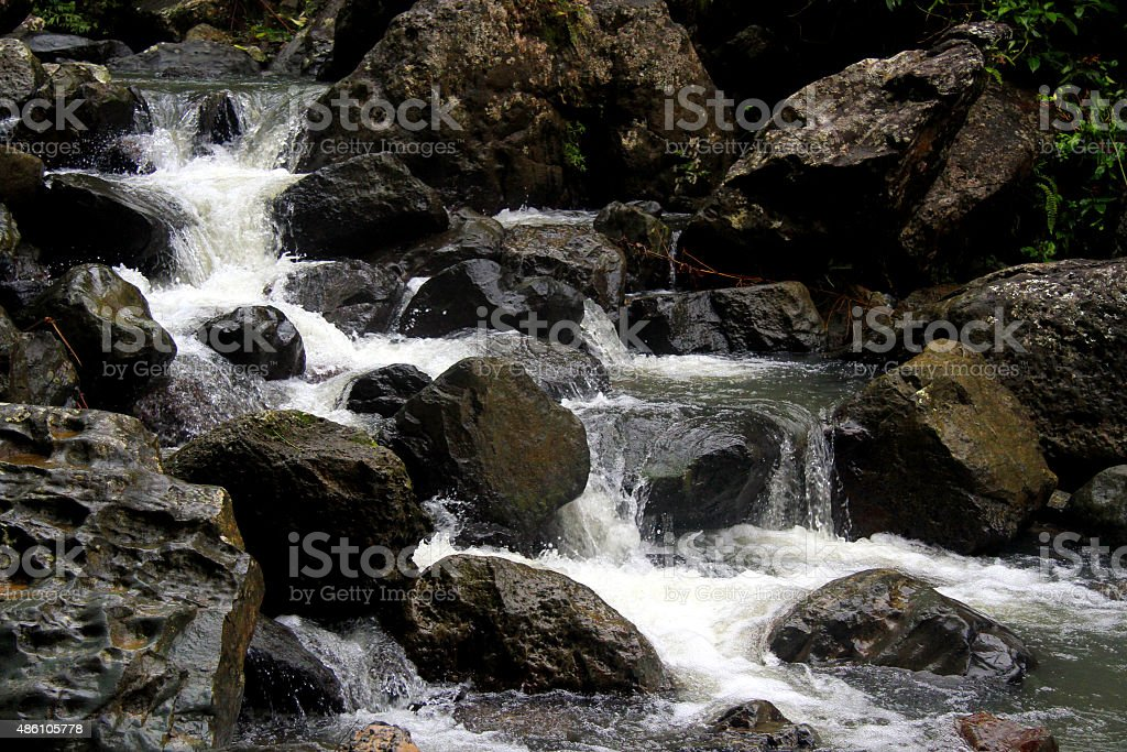 Cascada el Yunque zbiór zdjęć royalty-free