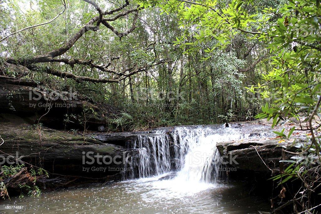 waterfall Ubon Ratchathani Thailand royalty-free stock photo