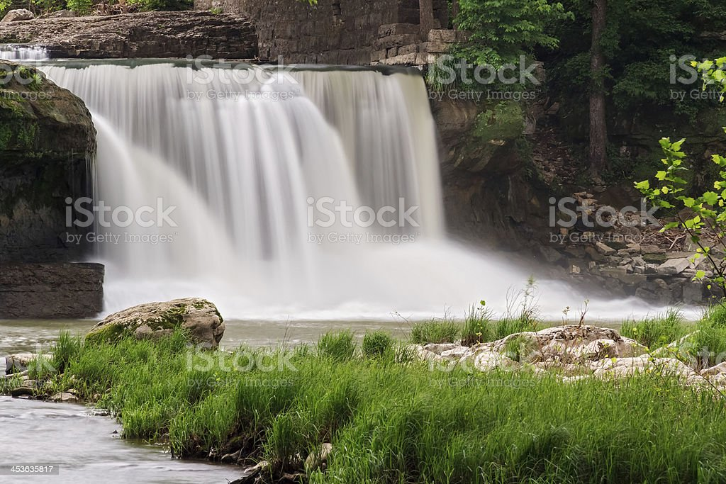 Waterfalll Whitewater foto stock royalty-free