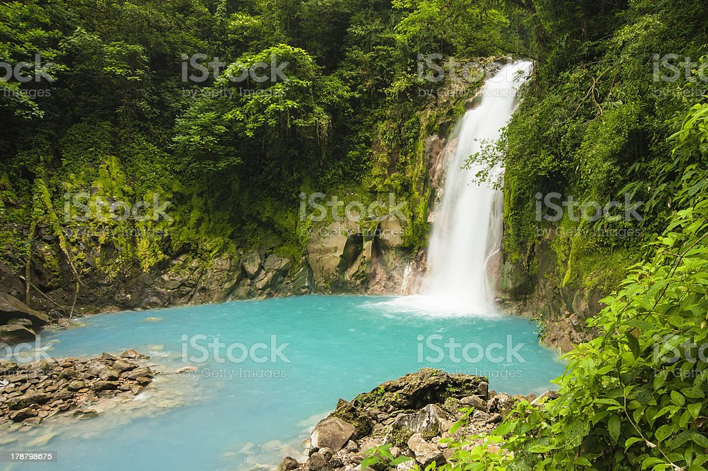 Waterfall-Rio Celested stock photo