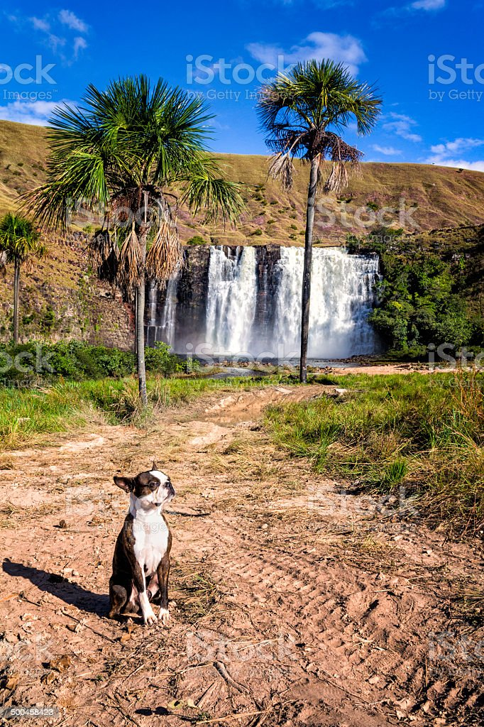 K Waterfalls at Gran Sabana, Venezuela royalty-free stock photo