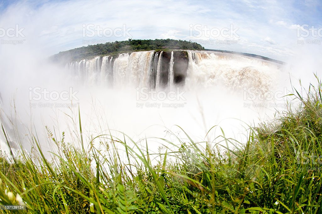 Waterfalls Iguazu royalty-free stock photo