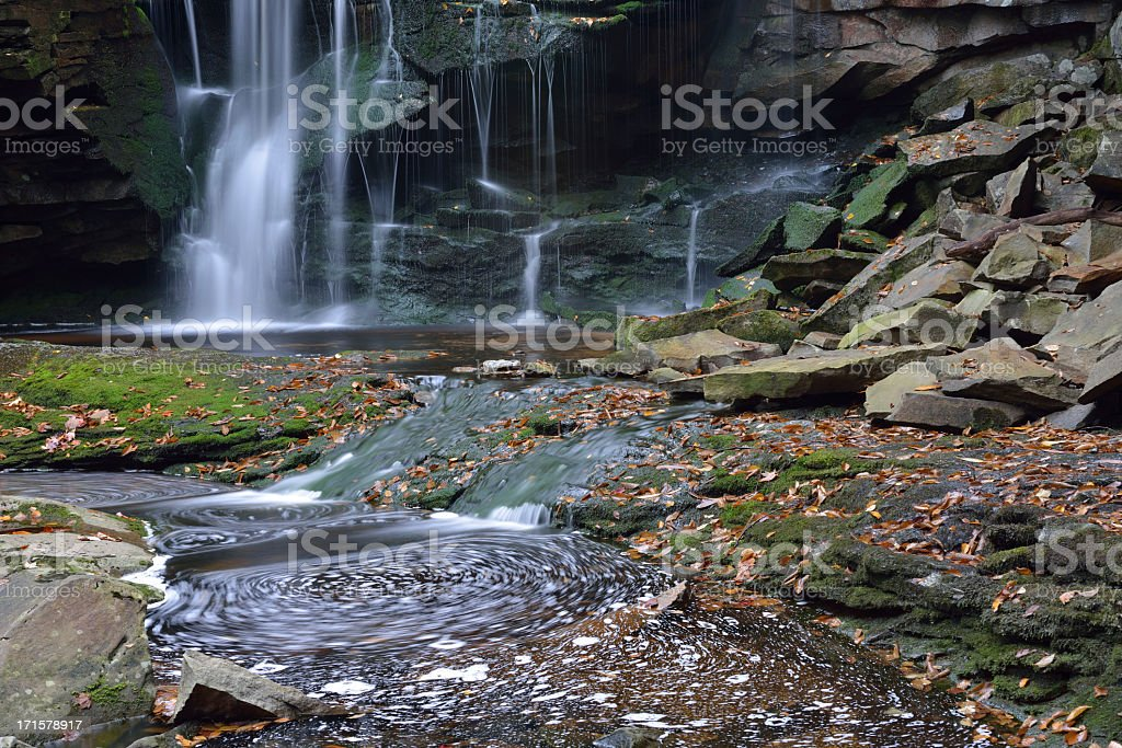 Waterfalls in Blackwater River stock photo