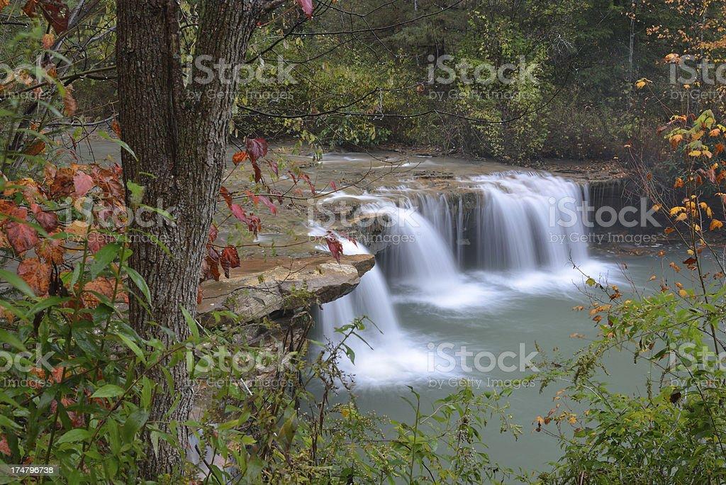 Waterfalls in Blackwater River stock photo