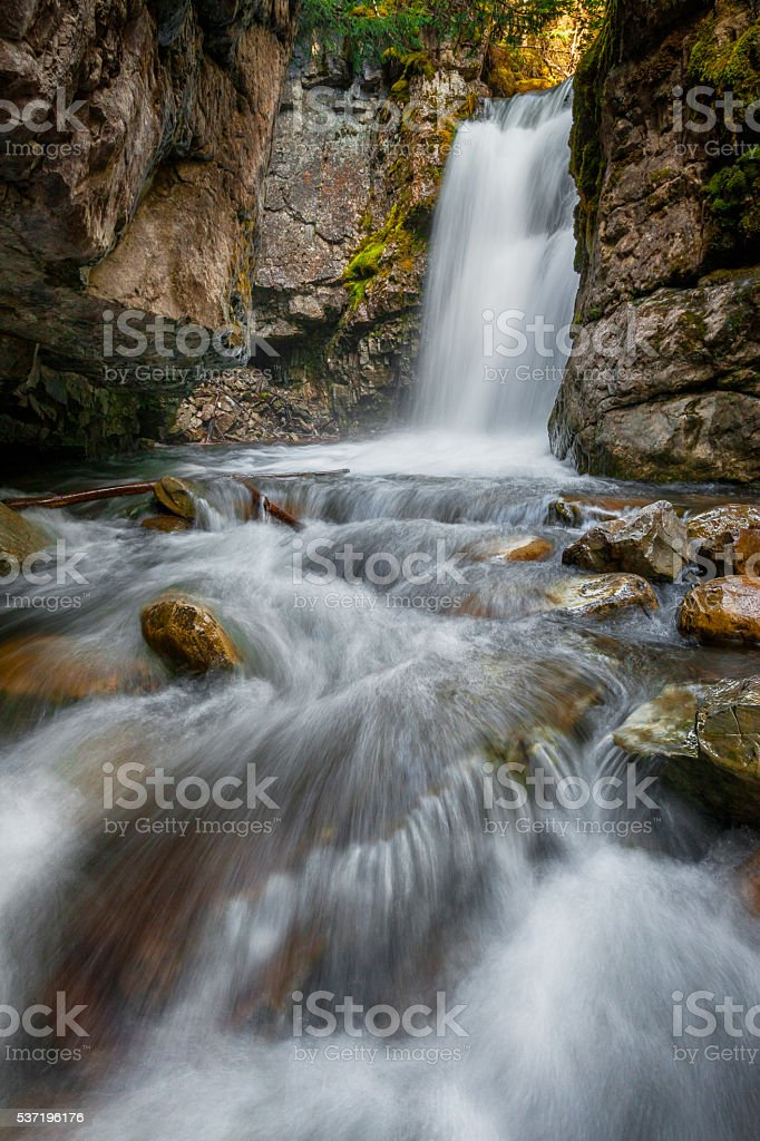 Waterfalls in K-Country stock photo