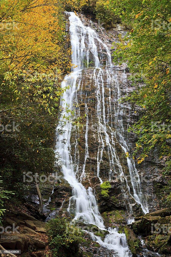 Waterfalls in North Carolina stock photo