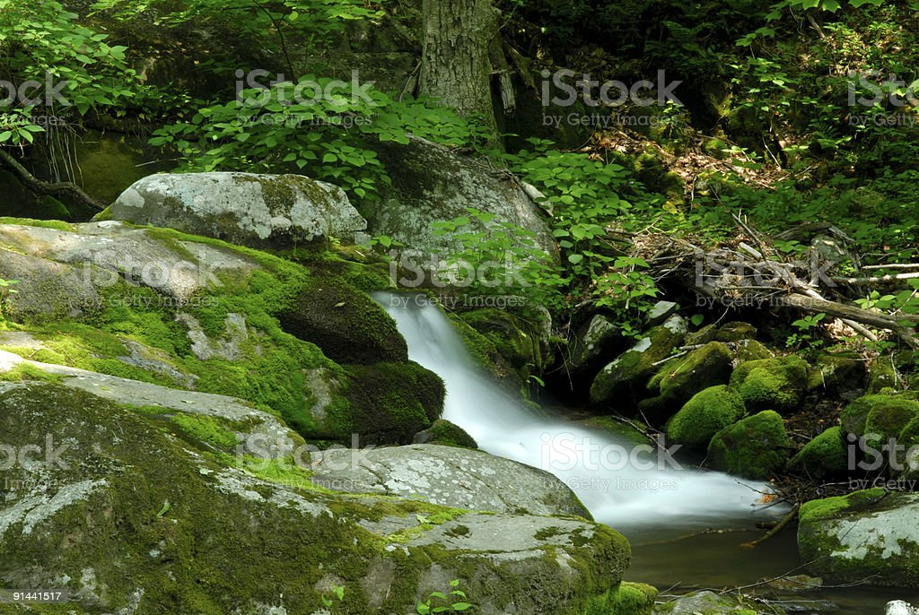 Waterfalls in Shenandoah National Park royalty-free stock photo