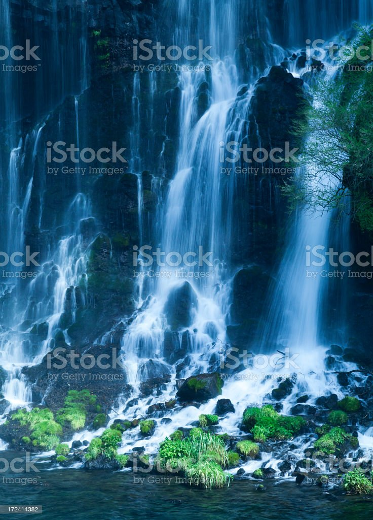 Waterfalls in the Forest royalty-free stock photo