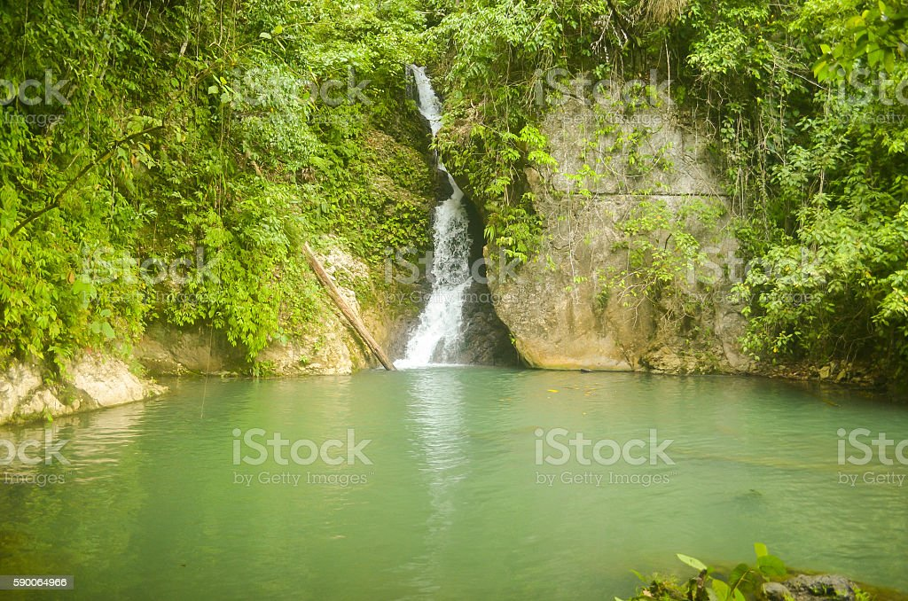 Waterfalls in the Philippines photo stock photo
