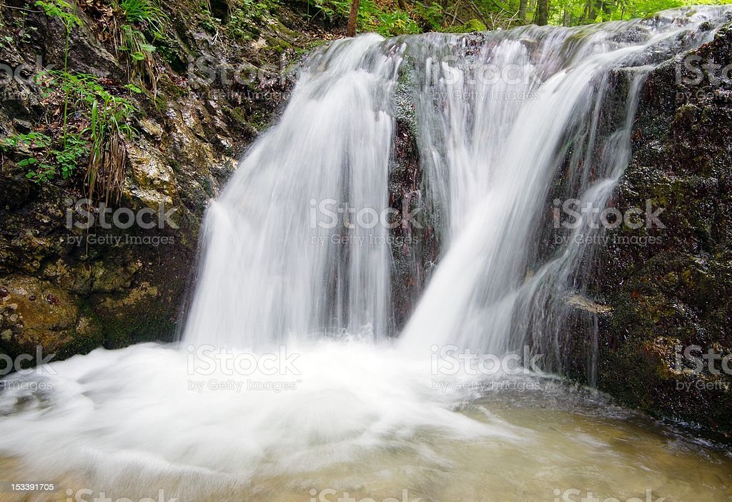 waterfalls janosikove diery royalty-free stock photo