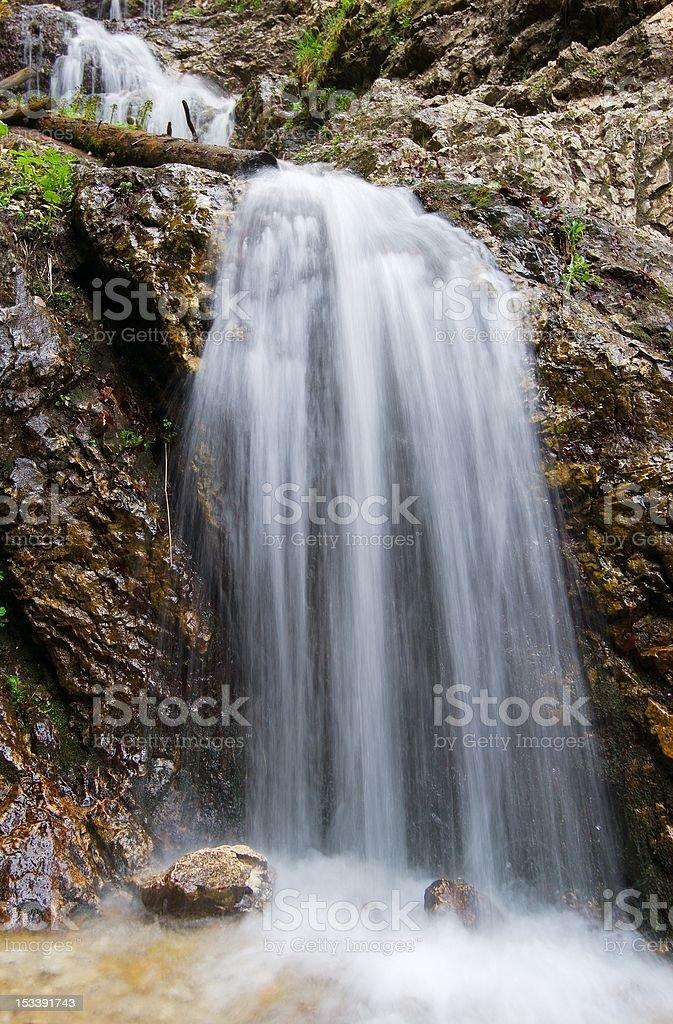 waterfalls janosikove diery royalty-free stock photo