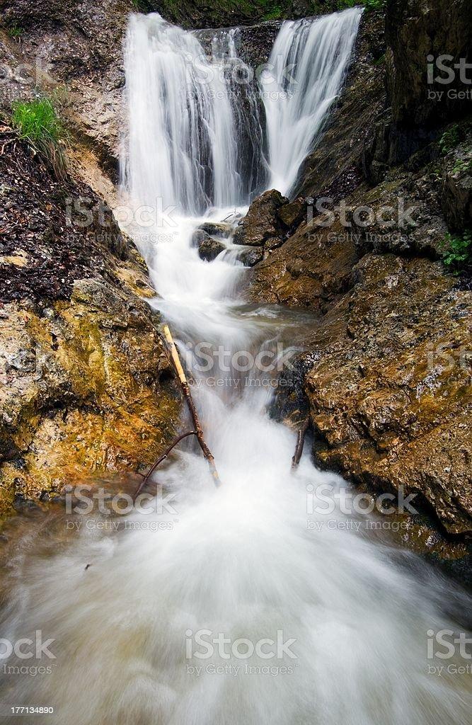 Cascades janosikove diery photo libre de droits