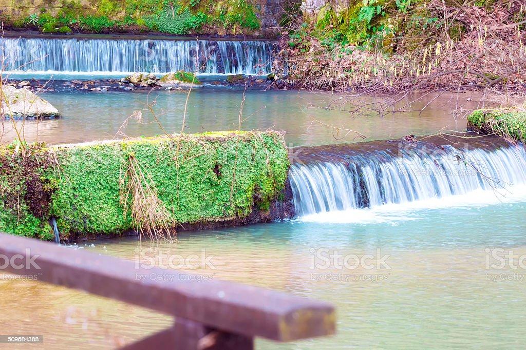 Waterfalls of Natural Beauty stock photo