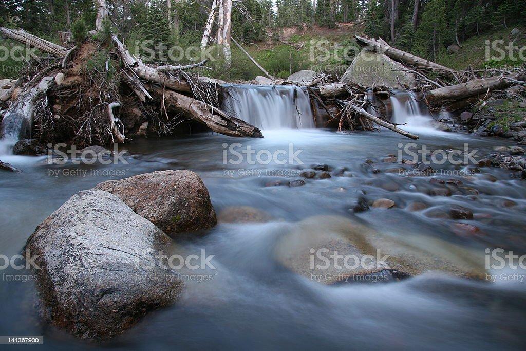 Waterfalls royalty-free stock photo