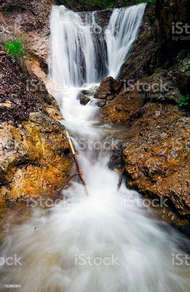 Des Cascades photo libre de droits