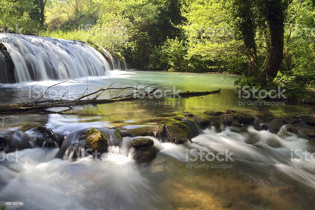 Waterfalls royalty-free stock photo