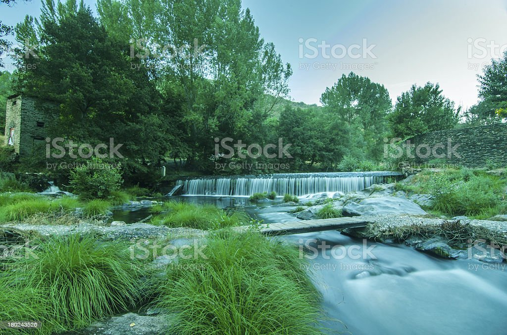 cascadas royalty-free stock photo