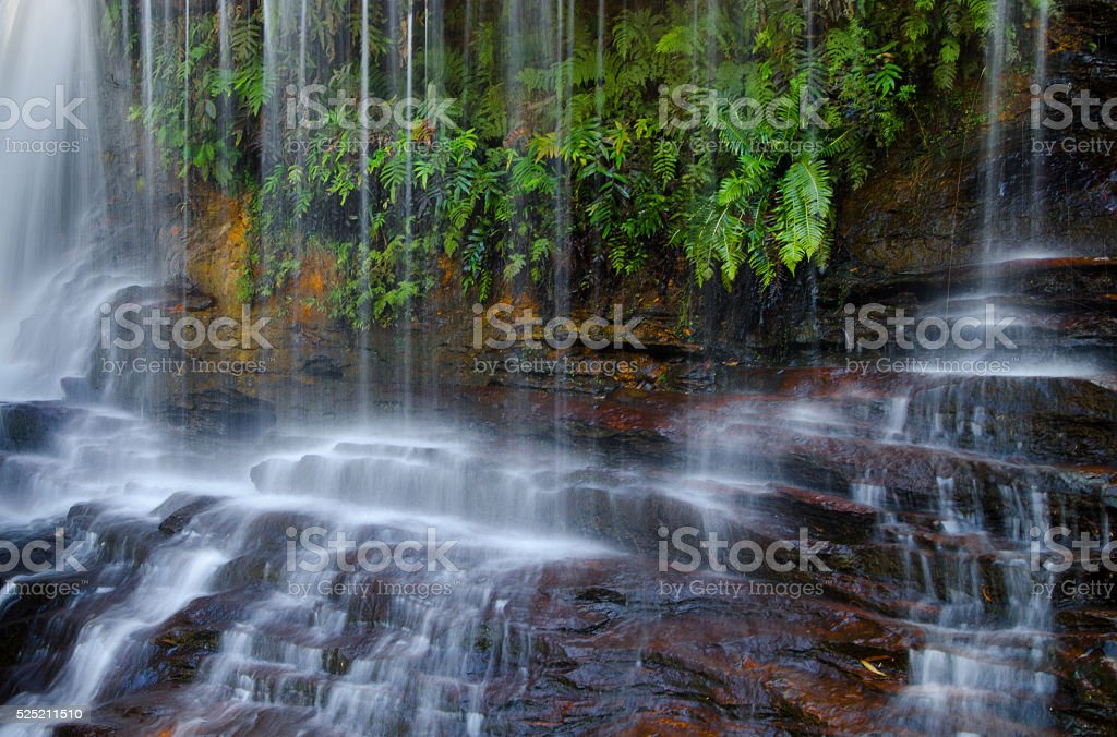 Waterfalls stock photo