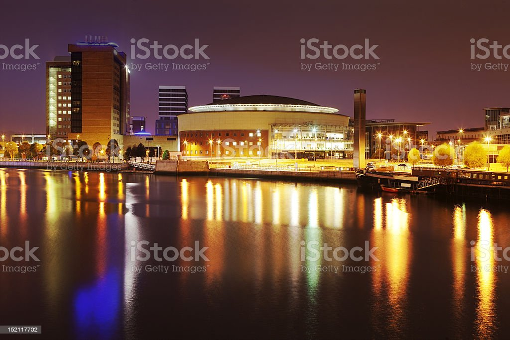 Waterfront Belfast stock photo