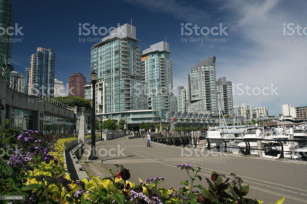 Waterfront Boardwalk royalty-free stock photo