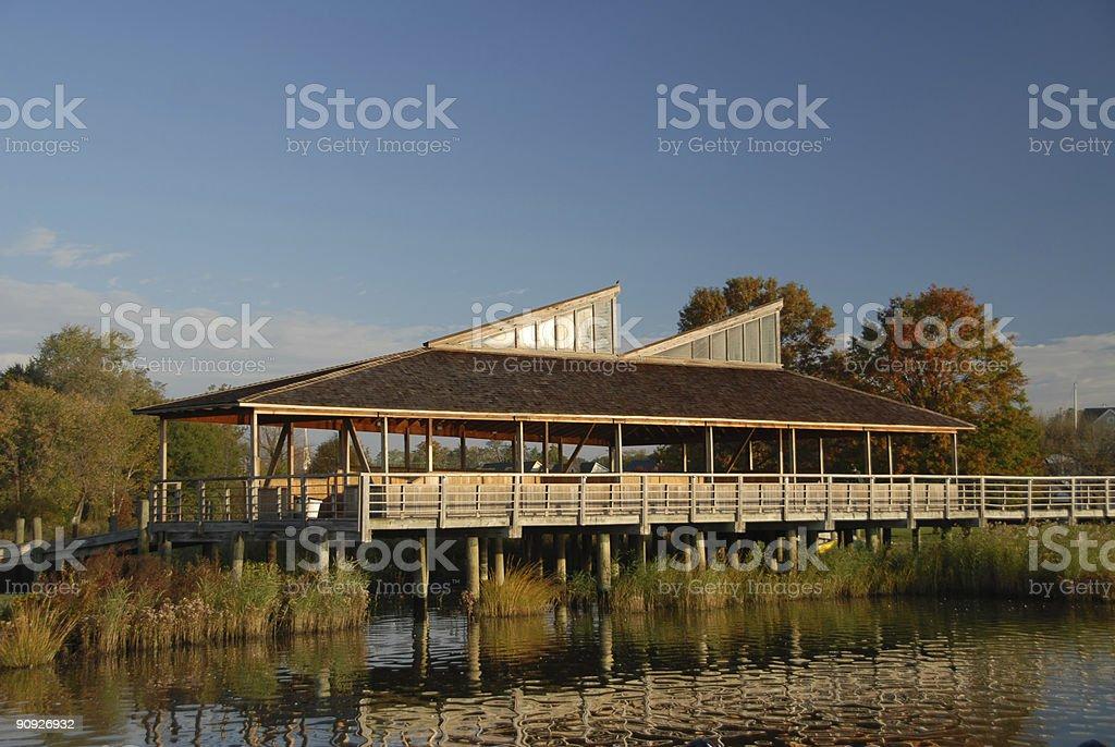 Waterfront Pavilion stock photo