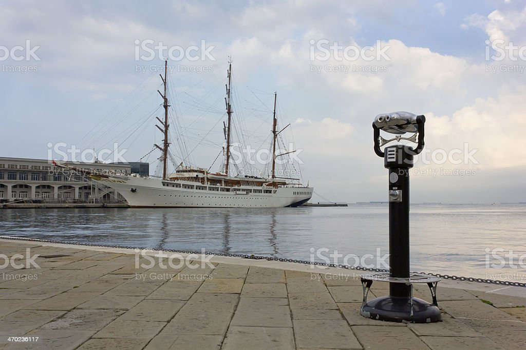Waterfront royalty-free stock photo