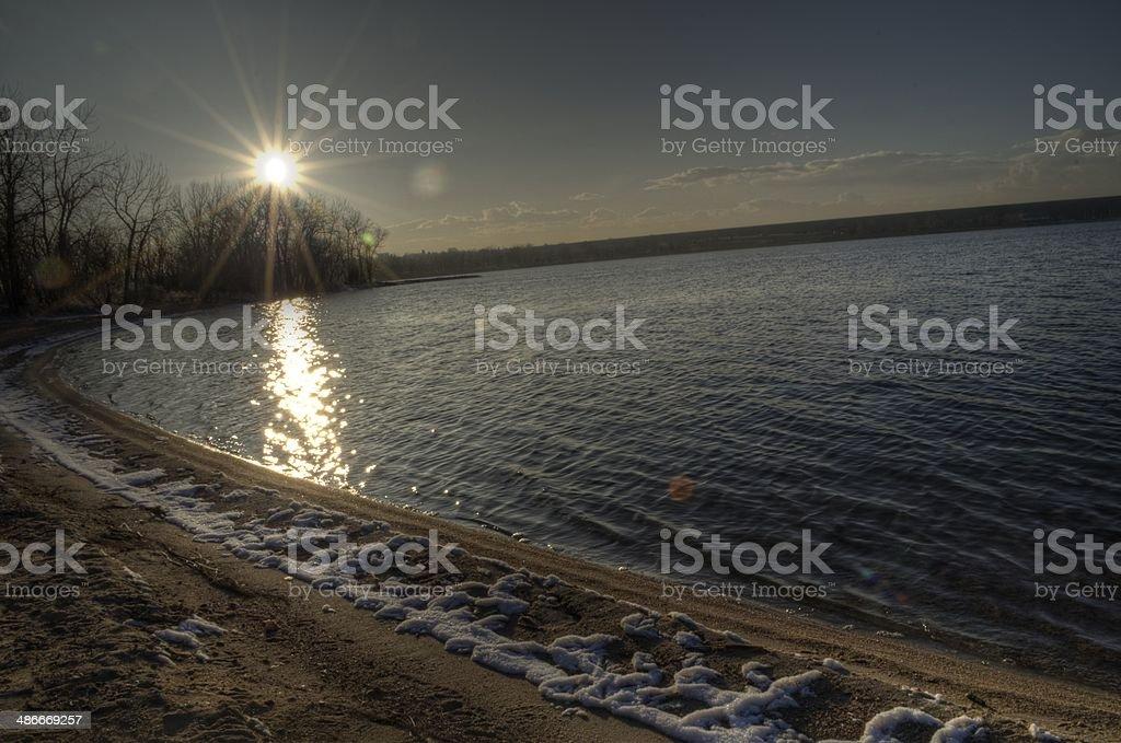 Waterfront stock photo