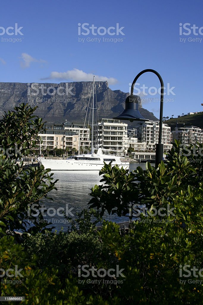 Waterfront Yacht Basin royalty-free stock photo