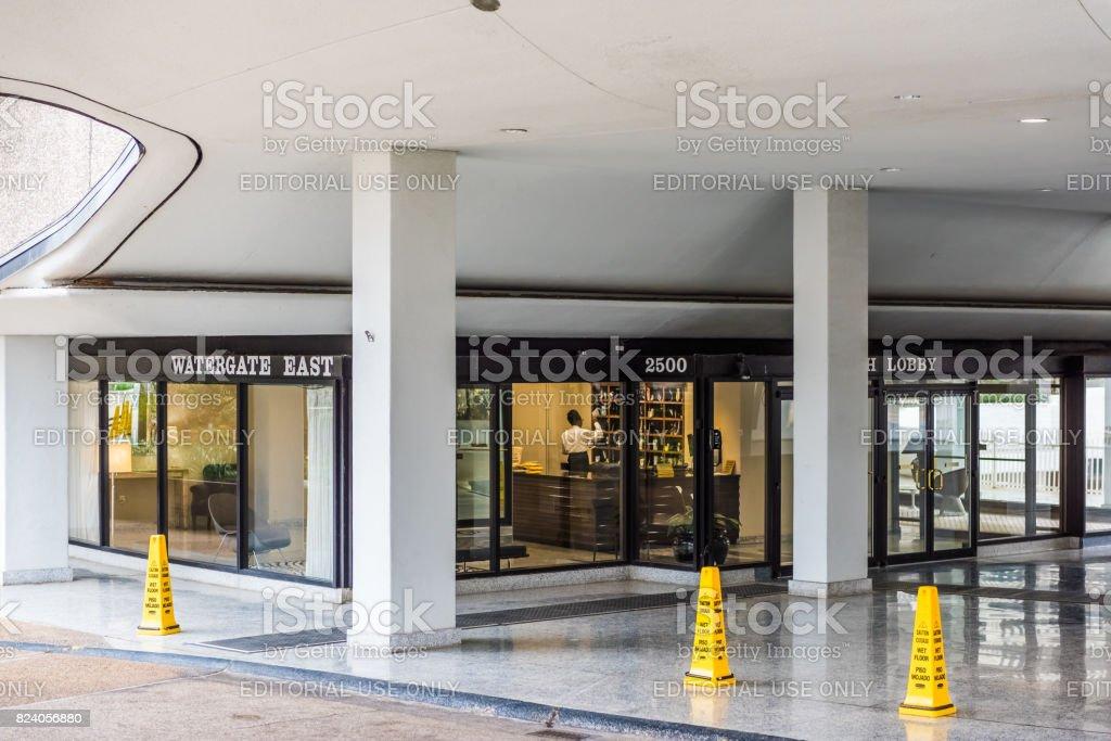 City Apartment Building Entrance watergate apartment building exterior with entrance and lobby