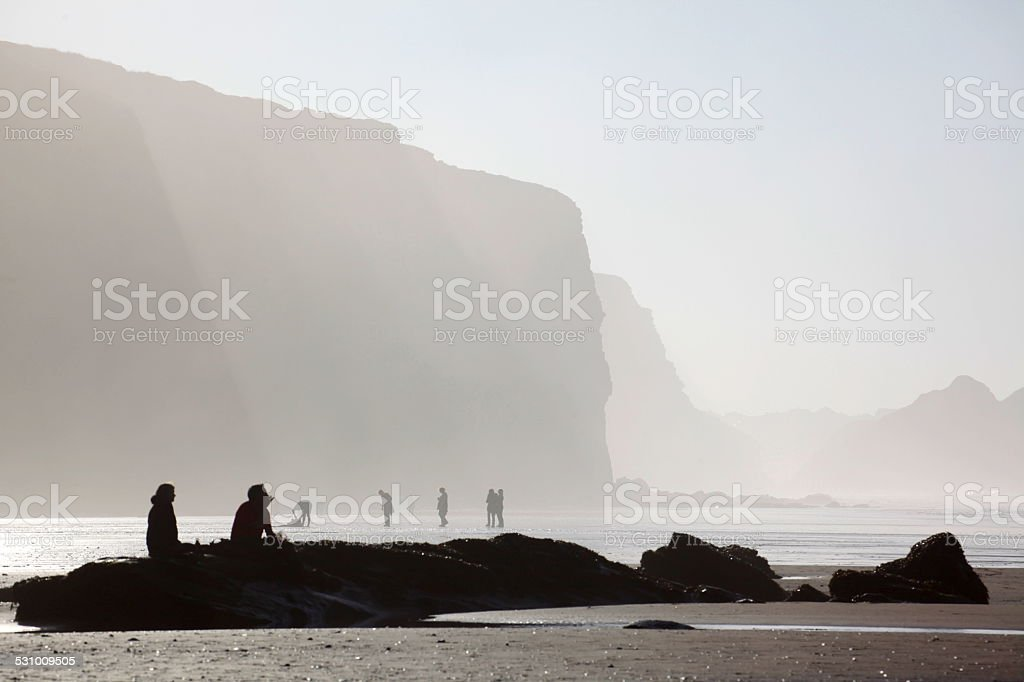 Watergate Bay stock photo