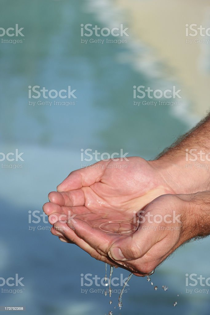 Waterhands 0008 royalty-free stock photo