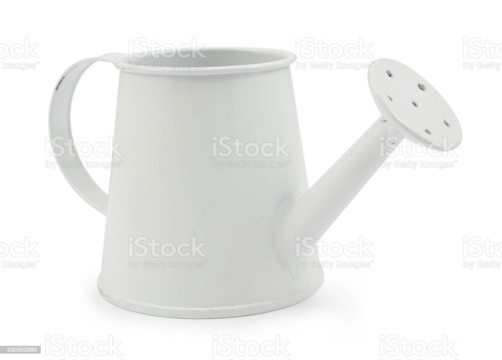 watering can old retro vintage style stock photo