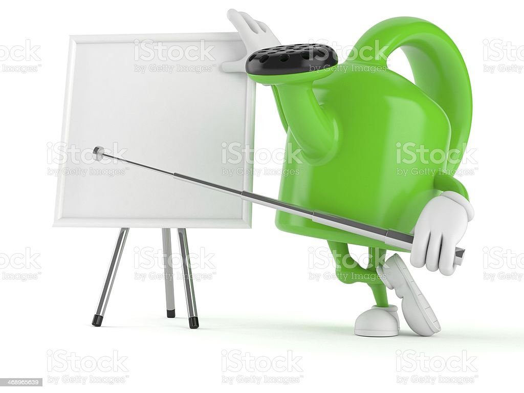 Watering can royalty-free stock photo