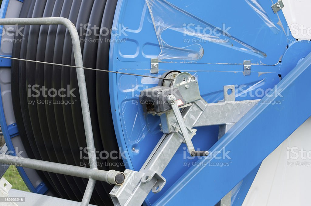 Watering system royalty-free stock photo