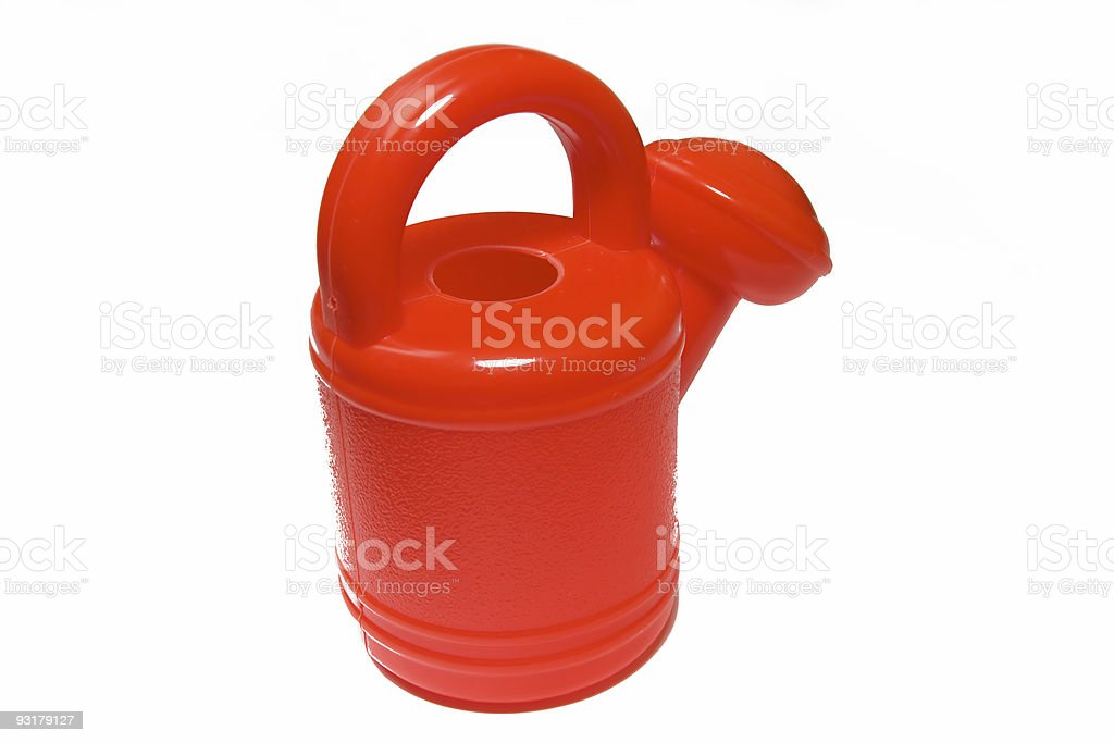 watering-can royalty-free stock photo