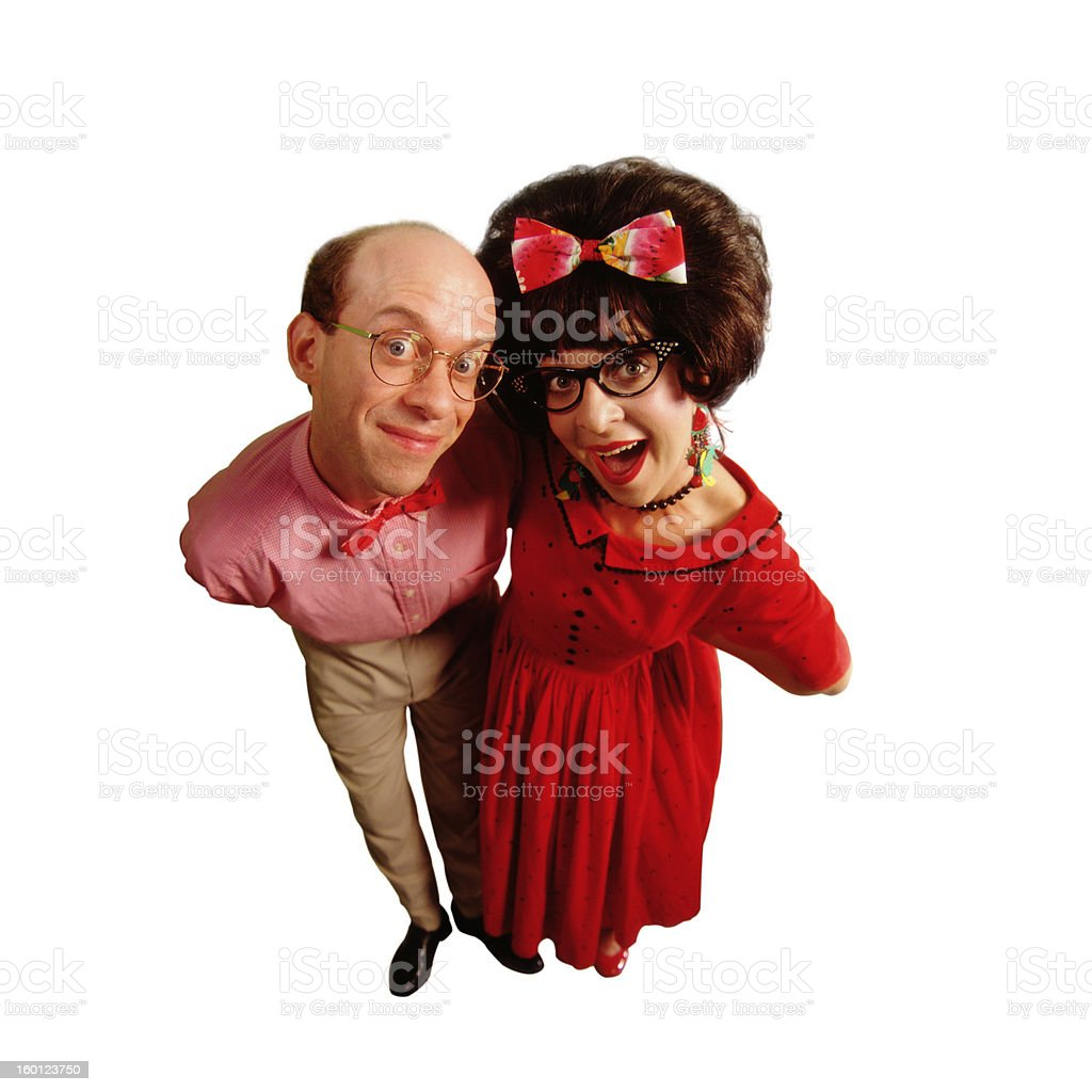 Watermellon couple royalty-free stock photo